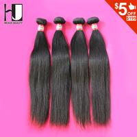 Hot Sale Peruvian Straight Virgin Hair 4pcs Lot  6a unprocessed virgin peruvian hair Weave Free Shipping