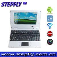 "free shipping (SF-Y07) 7"" VIA WM8850 Nand Flash 4GB android 4.0 3G moderm camera WIFI new mini netbook"