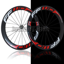 FFWD F6R 60mm tubular bike wheelset 700c Carbon fiber road Racing bicycle wheels(China (Mainland))