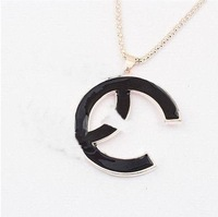 (minimum order $15) fashion Classic bigxx black sweater chain for the regular customer