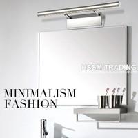 Wholesales 2013 news on sale LED  mirror light stainless steel bathroom lamp 5W  7W  modern brief lamp bedroom light