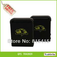 TK103B Vehicle GPS tracker Remote Control Portoguese Manual Quad band SD card GPS 102 PC&web-based GPS system free shipping