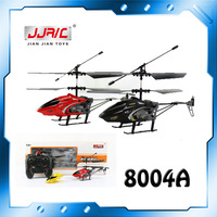 Free Shipping Good Quality 3.5CH Remote Control Helicopter With Gyroscope Infrared Control Alloy Series Rc Helicopter JJRC 8004A