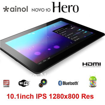 Ainol Novo10 Hero Android 4.1 Tablet PC 10inch IPS Capacitive 1280x800 Bluetooth 16GB