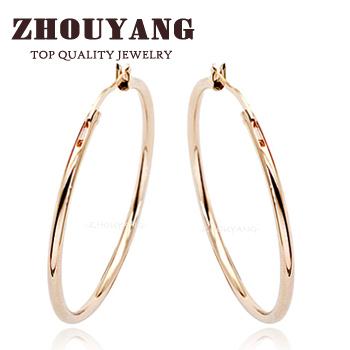 Серьги-кольца ZhouYang Jewellery ZYE093