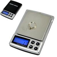 Holiday Sale 5pcs/Lot 2000g x 0.1g Pocket Digital Weigh Jewelry Scale Balance Free Shipping 6773  B16