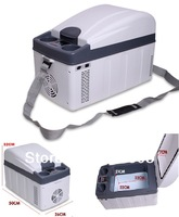 Free shipping   20L Portable Car Refrigerator Mini fridge Portable Refrigerator with good quality