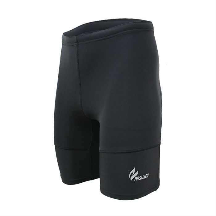 2013men's lycra compression tights base layer underwear shorts.cycling running.box football soccer basketball.501 black(China (Mainland))