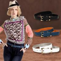 Free shipping spring women's Leather Belt serpentine pattern matte leather belts for women