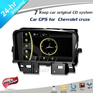 Free ship+gift 8'' in-dash Car GPS AV player for Nissan Qashqai 11-12 Keep original CD system FCC/CE/ROHS certified+4G card+map(Hong Kong)