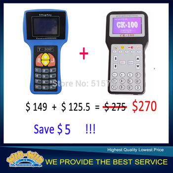 English Language T300 Key Programmer V14.02 & CK100 Key Programmer Get 5USD Discount !
