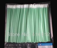 "500pcs 6"" Cleanroom ESD Long Foam Swab Flexi Swab ( flexible spade tipped head ) - Replace Texwipe TX740B Medium CleanFoam Swab"
