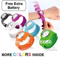 1x Silicone Slap On Watch Sport Children KIDS Teens Silicon Rubber Ladies Fashion colors Wholesale LOT girls boys