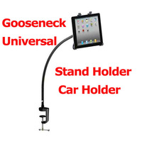 "Free Shipping 2013 Bestselling 360degree Rotating Gooseneck Stand Holder Car Mount Holder for 7-10.1"" Tablet PC PDA  Universal"