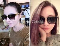 Freedropshipping Unisex New Fashion Retro 2015 Brand Sunglasses Watch Super Gold Flat Designer Frames Glasses Eyewear SG37