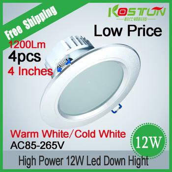 Elegant+ Fashion Design12W LED Downlight Anti-mist LED Lamps CE/ROHS Indoor Lighting  Free Shipping