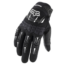 racing gloves fox Bicycle Motorcycle gloves the Full Finger size M L XL 4 color yellow black bule White(China (Mainland))