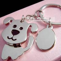 dog keychain novelty items cute key ring for women innovative souvenir christmas gift trinket free shipping