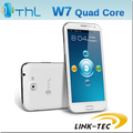 "Orginal ThL W7  W7s Quad core Phablet 5.7 "" 1280*720 HD IPS Screen 1G RAM mtk6589 Android 4.2.1  WCDMA 3G  LT68"