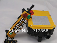 F24-10D(include 1 transmitter and 1 receiver)/10 channels 2 Speed Hoist crane remote control wireless radio Uting remote control