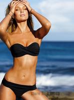 Free Shipping2013 Hot Sell Sexy Women's & Girl's Swimwear Push Up Padded Swimsuit Bikini Set Black Beachwear Two Padded Swimming