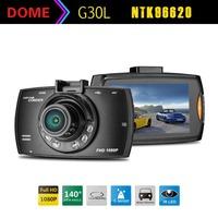 G30L Novatek 96620 Car DVR Camera Black Box 1080P Full HD Loop Recording + IR Night Vision 140 Degree Wide Angle DashCamera
