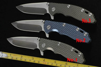 Free Shipping Kevin John New Great work Kevin triumph 3' inches XM -18 all titanium handle only Spanto blade in stock