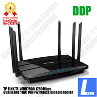 TP-LINK AC1750 Wireless Dual Band Gigabit WiFi Router Six Antenna Dual USB DDP Lsea Center World-Class Offer (TL-WDR7500)