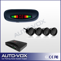 LED Display rear view parking sensor system OEM Car Reverse Backup Radar with 4 sensors ( 3 colors optional) freeshiping