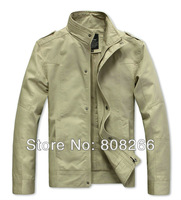 Hot sale 2013 new fashion casual jackets for men spring autumn hot slim men outdoor jacket 5 colors