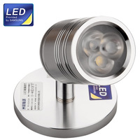 HUGEWIN 3W Surface Mounted LED Spotlight AC85V-265V lighting Spot Lamp Hot Sale HSD403 SUMSUNG CHIPS