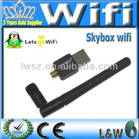 Skybox USB WIFI with Antenna for Skybox M3.F3.F4.F5.F6 USB wirelessness WIFI christmas sale