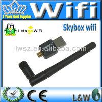 Skybox USB WIFI with Antenna for Skybox M3.F3.F4.F5.F6 USB wirelessness WIFI christmas sale