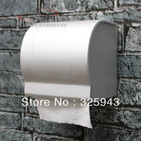 Cheap space aluminum toilet paper carton holder roll tissue case with cover dispenser washroom bathroom accessories