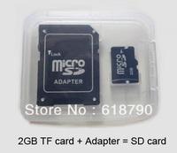 Three-year warranty 2 GB Mobile micro SDHC Flash Memory Card +Adapter