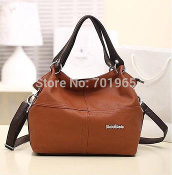 Cheap Products HOT!!!! Special Offer PU Leather bags women messenger bag/ Splice grafting Vintage Shoulder Handbag