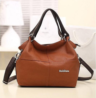 Cheap Products HOT!!!! Special Offer PU Leather bags women messenger bag/ Splice grafting Vintage Shoulder Handbag