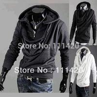 Slim Hooded XXL Hoodies Men Brand Long Sleeve Pure Cotton Casual Sweatshirts Man Hoody 8.19 Sale New Fashion Top