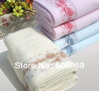 95 g 32*72 cm Mixed Colors Cotton Butterfly Towels Gift Face Hand Adult Towel uhhn067