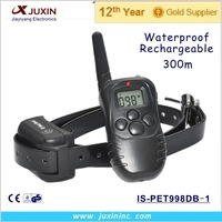 Rechargeable Waterproof LCD Electronic Shock Remote Dog Collar, Electric training collar