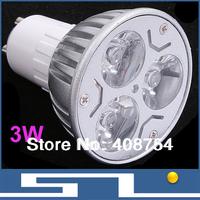 Sale!! Hme decorated 3W LED Spotlight, DC12V/AC85-265V input LED ceiling lights,MR16/GU10/E27 base,5pcs/Lot, Free shipping