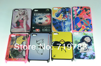NEW DIY sublimation case for iphone4/4s with aluminium metal inset 20/pcs