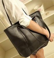 2013 new handbag newest design fashion lady  woman shoulder Messenger Bag crocodile free shipping WBG0001