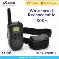 100LV Remote Control Static Anti Bark Pet Dog Training Collar