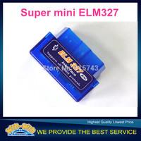 Support 12 languages Super Mini ELM327 V2.1 Bluetooth OBD2 Scanner ELM 327 elm327 OBD2 diagnostic scanner for Android Torque/PC