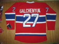 2013 NEW, Wholesale Ice Hockey Montreal #27 Alex Galchenyuk red jerseys, please read size chart before you select sizes