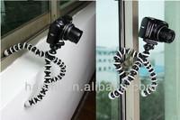 New Quality Medium Size Flexible Tripod Octopus 360 Rotating max load 1200g for Camera SLR DSLR Film Digital Camera