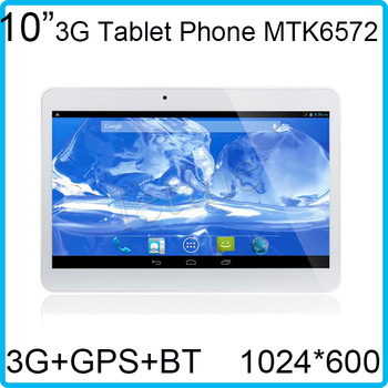 WCDMA 2100Mhz 1024*600 10 inch Bluetooth GPS Phone Call tablet WIFI Andriod 4.2 Sim Card Slot Free Shipping