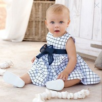 2013 Hot selling Baby dress/ baby sets/Plaid dress/baby suit baby short sleeve dress