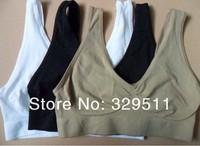180pcs/lot (60set ) Low Price Free Shipping ahh Bra Seamless Bra As Seen On TV the Comfortable  Yoga Rhonda Shear Bra( No Box)